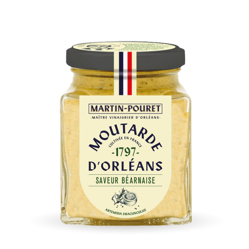Moutarde saveur Béarnaise 200g
